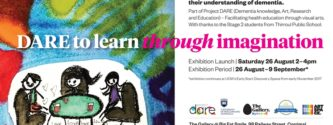 Project Dare Exhibition at UOW